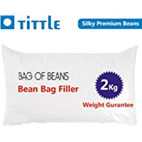 kena enterprice Title A-Grade Silky Beans for Bean Bag Filler/Refill (2 Kg)