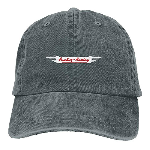 zengjiansm Hüte,Kappen Mützen Austin Healey Car Classic Hiking Duck Unisex Cotton Washed Denim Travel Cap Hat Adjustable Natural