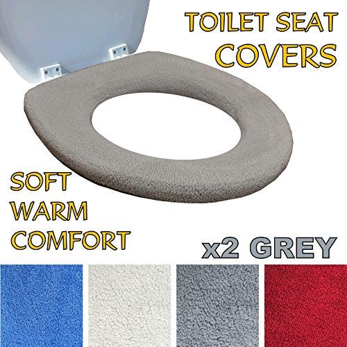 Rivestimento della tavoletta del water – lana super calda – anello di aggancio di metallo – adattabilità universale – lavabile in lavatrice