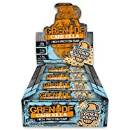 Grenade Carb Killa Choc Chip Cookie Dough High Protein and Low Carb Bar, 12 x 60 g