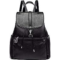 Advik Women Backpack Purse PU Leather Anti-theft Casual Shoulder Bag Fashion Ladies Satchel Bags