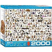 Eurographics Puzzle Il mondo dei cani, EG82200581, 2000 pezzi