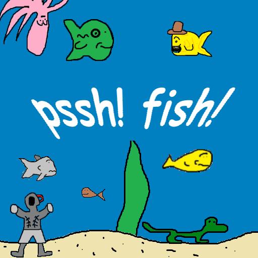 pssh! fish! Interactive Aquarium / Fish Tank (Lizard Tanks)
