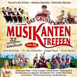 Das Grosse Musikanten 33 Treff [Import allemand]