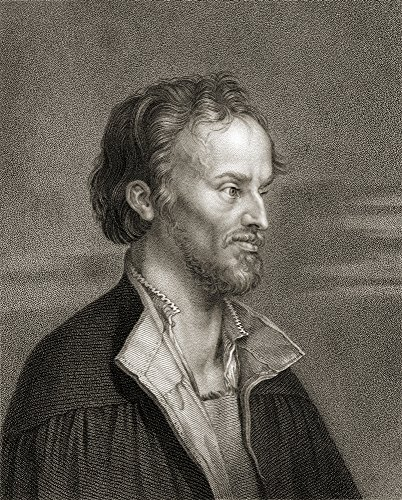 Ken Welsh / Design Pics - Philipp Melanchthon Aka Philipp Schwartzerd 1497-1560 German Author Humanist Reformer Theologian And Educator From The Book _Gallery Of Portraits Published London 1833. Photo Print (33,02 x 43,18 cm) -