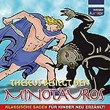 Theseus besiegt den Minotauros - Gustav Schwab