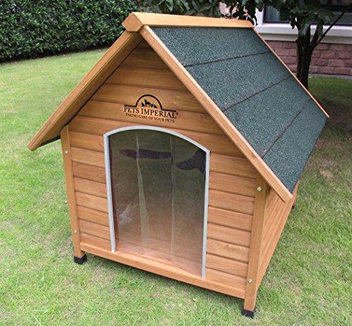 XL Sussex Hundehütte Aus Holz Mit Entfernbarem Boden Zur Einfachen Reinigung B - 3