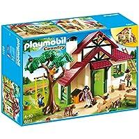 Playmobil - 6811 - Jeu - Maison Forestière