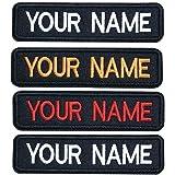 Brillianne Patch nom brodé personnalisé, étiquette de nom de Broderie personnalisée pour Badge de Motard Moto/Fer sur / 10x2,