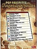 pop favorites for fingerstyle guitar partitions pour tablature guitare guitare