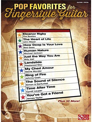 Pop Favorites For Fingerstyle Guitar. Partitions pour Tablature Guitare, Guitare