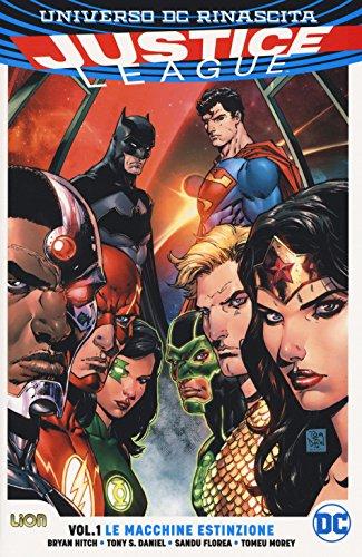 Rinascita. Justice League: 1