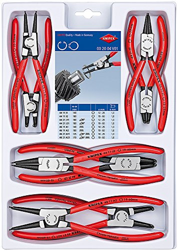 KNIPEX 00 20 04 V01 Sicherungsringzangen-Set