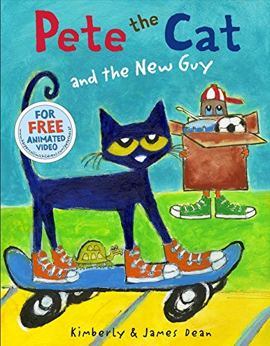 Pete the Cat and the New Guy por James Dean