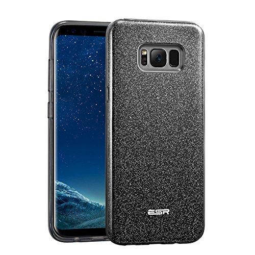 Cover Samsung S8, ESR Custodia con Glitters/Brillatini, Bling Bling Disegno in TPU [Morbida e Elastica], Luminosa Brillante Lucciante Case per Samsung Galaxy S8 (2017)