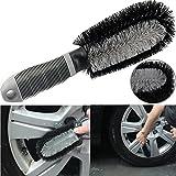 Phego Cepillo de lavado de coche cepillo cepillo, llantas de coche neumático rayos lavado a mano cepillo