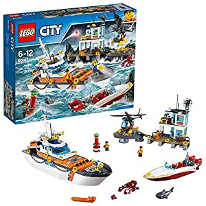 LEGO 60167 - City Coast Guard, Quartier Generale della Guardia Costiera 5702015866415 LEGO