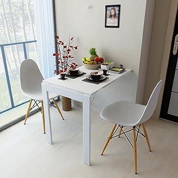 moderner wandklapptisch schreibtisch in wei mdf zum ausklappen k che. Black Bedroom Furniture Sets. Home Design Ideas
