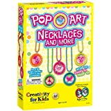 Creativity for Kids - Pop-Art Necklaces And More