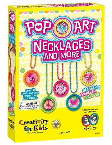 Creativity for Kids CFK1594 - Pop-Art-Ketten und mehr, -