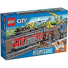 LEGO City Tren de Mercancías Pesadas - juegos de construcción (Multi)