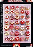 Educa 15550 - Cupcakes, Howard Shooter Studios-Puzzle, 1000 Teile