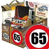 65. Geburtstag | Ostalgie Box | GRATIS DDR Kochbuch | NVA Box