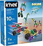 KNEX Imagine 10 Model Building Fun Set for Ages 7+, Engineering Education Toy, 126 Pieces