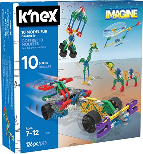 KNEX Imagine 10 Model Building F...