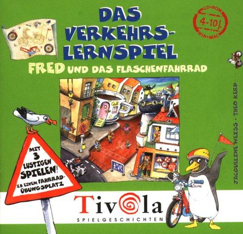 Das Verkehrs-Lernspiel: Fred und das Flaschenfahrrad