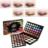 Eyeshadow Palette Makeup Kit,95 Colors Glitter Make-Up Powder Eye Color Palette,80 Eye shadow + 15 Blush Concealer - Professi