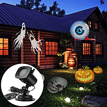 actopp weihnachtsbeleuchtung led beleuchtung halloween projektor projektionslampe strahler au en. Black Bedroom Furniture Sets. Home Design Ideas