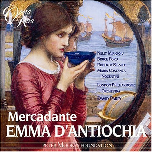 EMMA D'ANTIOCHIA - Saverio Mercadante -CD Album