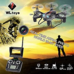 Origine WLtoys Q282G 4CH 6-Axes Gyro 5.8G FPV Drone RC Hexacopter Avec 2.0MP Mode HD FC Caméra