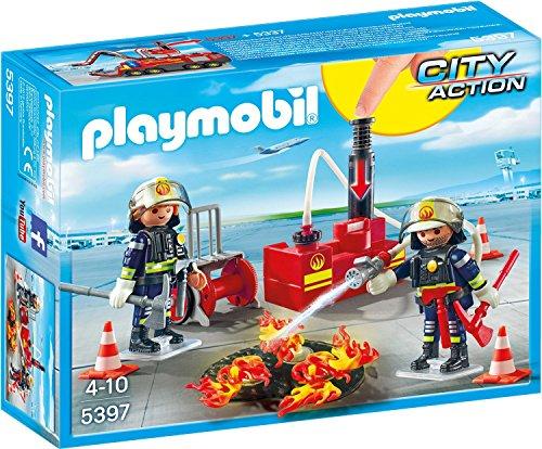 Preisvergleich Produktbild PLAYMOBIL 5397 - Brandeinsatz mit Löschpumpe