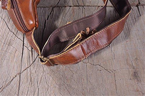 ZYPMM 2017 neue Retro-Taschen Leder Herren Taschen von High-End-europäischen und amerikanischen Mode-Gezeiten Persönlichkeit weiches Leder Geldbörse Earth gold