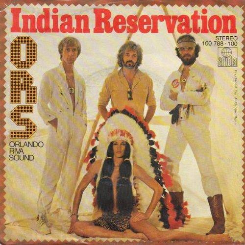 O.R.S. (Orlando Riva Sound) - Indian Reservation - Ariola - 100 788, Ariola - 100 788 - 100