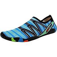 Padgene Water Shoes Socks Barefoot Skin Swim Shoes, Men Women Quick Dry Water Sport Shoes, Unisex Aqua Shoes for Swim…