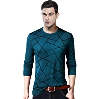 EYEBOGLER Printed Full Sleeve Men's T-Shirt (EBT317)