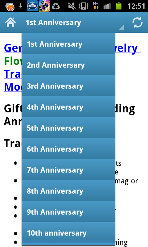Wedding Anniversary Symbols Amazon Co Uk Appstore For Android