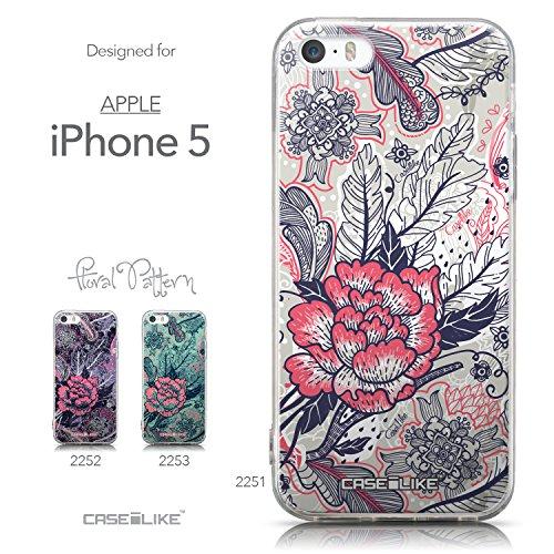 CASEiLIKE Graffiti 2709 Housse Étui UltraSlim Bumper et Back for Apple iPhone 5G / 5S +Protecteur d'écran+Stylets rétractables (couleur aléatoire) 2251