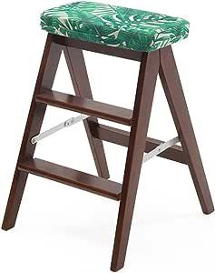 Marchepied escabeau en pliant bois Chaise échelle Tabouret LqMjSVpGUz