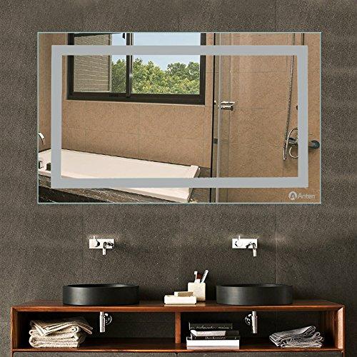 Spiegelleuchte Warmweiß – Spiegel mit LED-Beleuchtung 100 x 60 cm - 8