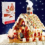 Gingerbread House kit biscotti di Natale casa di marzapane Man slitta Elk forme set di 9(garanzia di sostituzione a vita) by Kaishan
