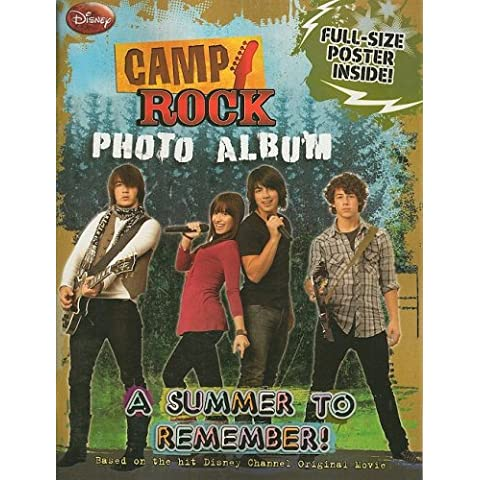 Camp Rock Photo Album: A Summer to Remember! [With Poster]