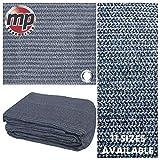 MP Essentials Tapis de sol tissé pour tente et auvent, anti-moisissure et résistant aux intempéries - Bleu/gris, bleu et gris, 2.5 x 3.5m