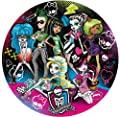 Clementoni 30313 Monster High - Puzzle clásico redondo por Clementoni
