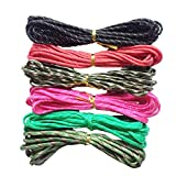#2: Segolike 6 Pieces 7 Strand Nylon Paracord Parachute Rope Lanyard for Camping Hiking Travelling Outdoor & Home Use #6