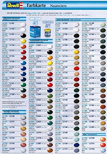 Preisvergleich Produktbild Revell Aquacolor 36xxx Farbensoriment 15 Stück 17ml Dosen; eigene Auswahl; günstiger als ein Einzelkauf - schnellversand garantiert