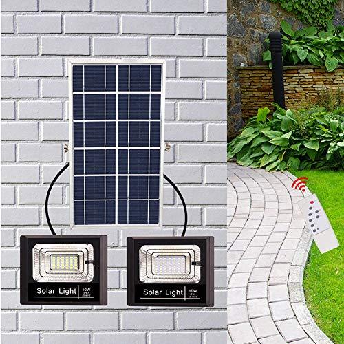 Outdoor-Solar-Fernbedienung Licht, Solar-Sicherheit Light High Power Wasserdicht Solar Wall Light Garden Garden Lane Carport Door Street,A